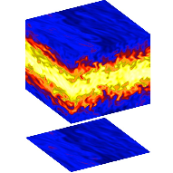 The amplification or dampening of hydrodynamically instable features may be modified by the presence of dust. Also the dynamics of dust will surely follow pressure maxima in a protoplanetary disc.<br />Therefore there is ample potential for complex interactions between the gas and dust material which we aim to study.