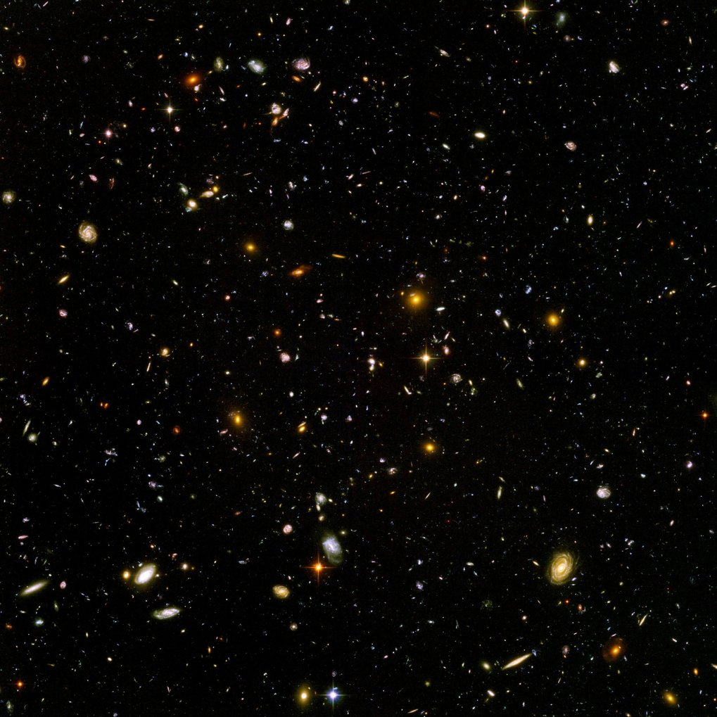 The Hubble Ultradeep Field is one of the best studied cosmological deep fields and the target of a number of ALMA programs led by MPIA.