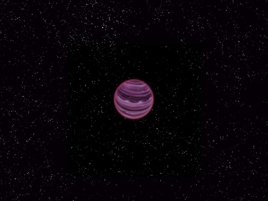 Artist's conception of PSO J318.5-22.