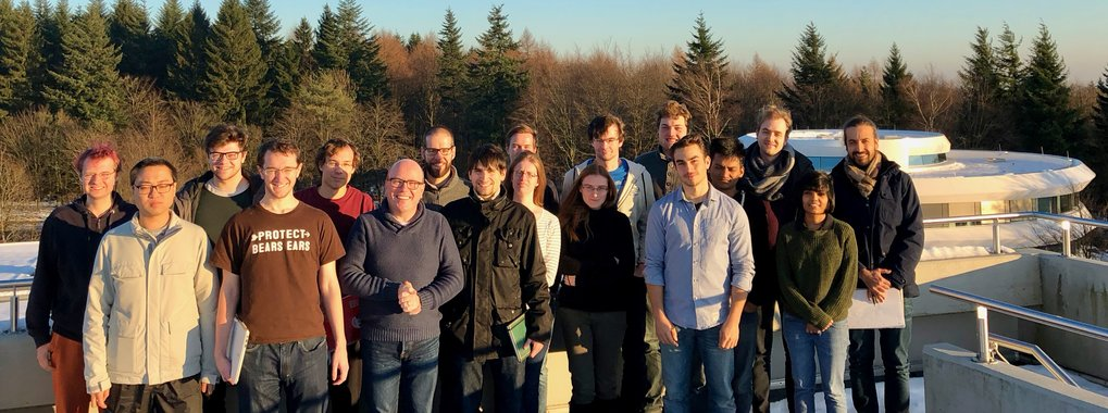 Theory of Planet and Star Formation group: Prof. Dr. Hubert Klahr (Group members and guests, December 2017)