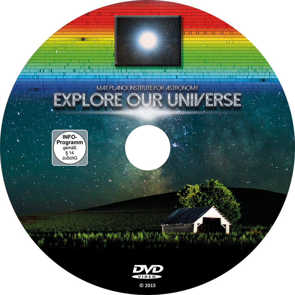 View of the DVD on which the film is distributed. It is also available online.