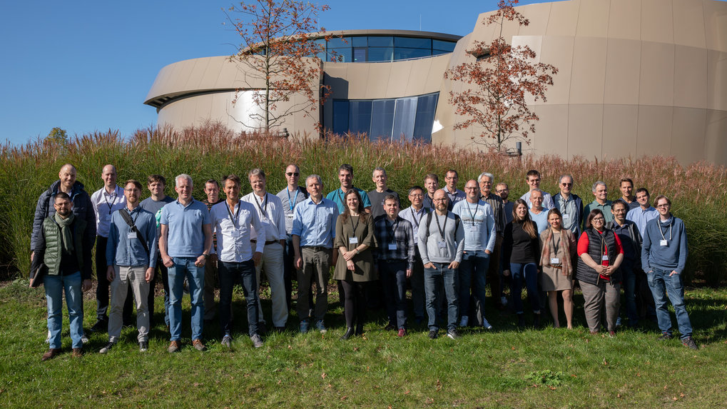 "Group photo of the event ""METIS Preliminary Design Review"" (PDR),  ESO Garching, 6–10 May 2019."