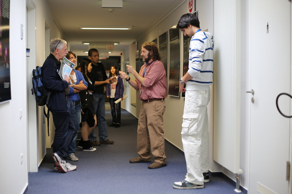 For many visitors, the best part of Open Day is the opportunity to talk to astronomers one on one, hearing about the latest results first-hand.