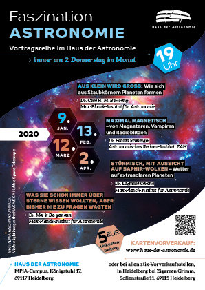 "Lecture series ""Faszination Astronomie"""