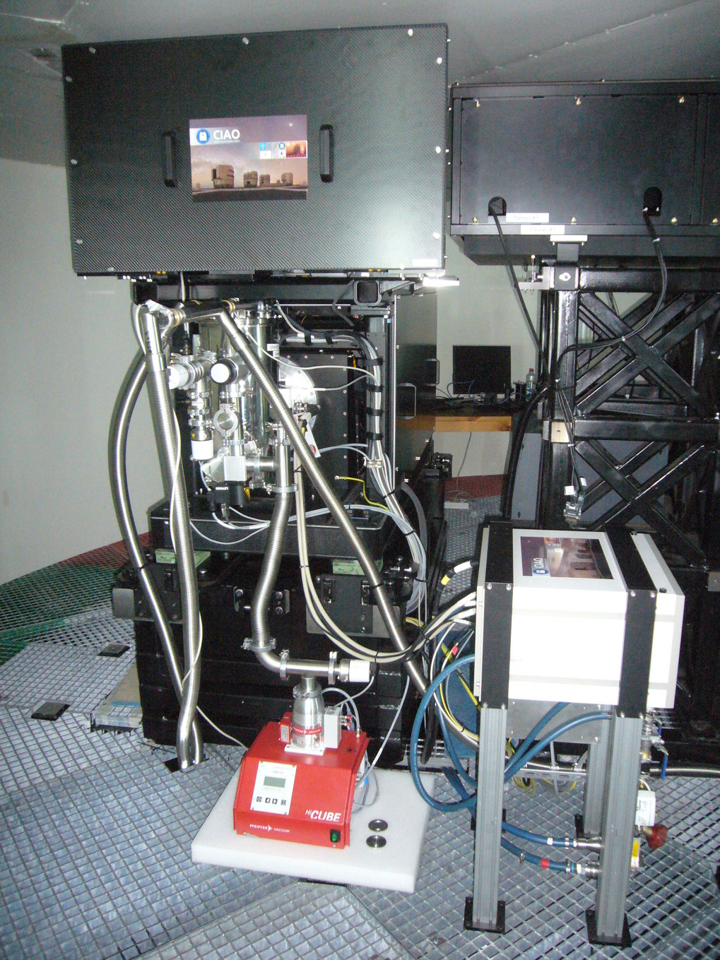 The first CIAO wavefront sensor system installed in the Coude-Room of the VLT-Unit 1 - Telescope at Paranal Observatory