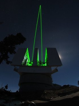 Advanced Rayleigh guided Ground layer adaptive Optics System, the laser guide star system for the LBT. Contact Scientist at MPIA: Wolfgang Gässler